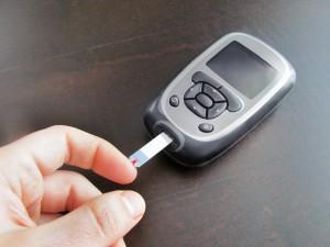 Diabetes glucose meter