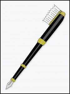 Fountain Pen-Toothbrush